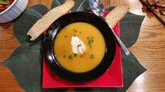 Squash soup. Yummmmm.