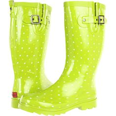 Bright and Fun    Chooka Classic Dot Rain Boot