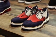 These Cole Haan shoes look like they were made for an Ole Miss Rebel!