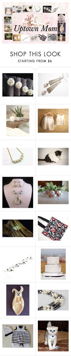 """Uptown Mom: Handmade & Vintage Gifts"" by paulinemcewen ❤ liked on Polyvore featuring Chanel, rustic and vintage"