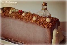 Bûche, mousse glacée, parfait au chocolat pour Noël & les réveillons - sans gluten, sans lait, sans blanc d'oeuf. http://bouillondidees.com/buche-glacee-au-chocolat-sans-glo/
