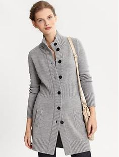 Patagonia Women's Merino Wool Sweater Coat | My Love of Clothes