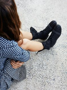 Free People Masterclass Lace Up Ankle Boot, $390.00