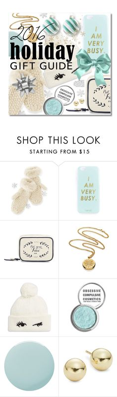 """""""Gift Guide: Besties"""" by miee0105 ❤ liked on Polyvore featuring Mark & Graham, Miss Selfridge, Draper James, Estée Lauder, Kate Spade, Obsessive Compulsive Cosmetics, Smith & Cult, Lord & Taylor and Martha Stewart"""