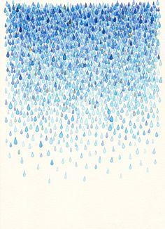 こんな雨だったら好きになれそう。
