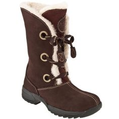 Sporto Rita Fur Boots Womens Brown Suede - Was $79.00 - SAVE $32.00. BUY Now - ONLY $46.98.