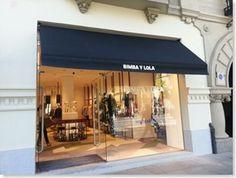 Bimba y Lola de nuevo confían en TGM para la confección de sus toldos en Madrid.
