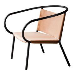 Afteroom Lounge Chair Cognac Loungestol | Menu | Länna Möbler | Handla online