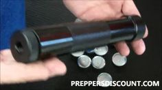 HOW TO MAKE A SILENCER SUPPRESSOR FROM A FLASHLIGHT - YouTube