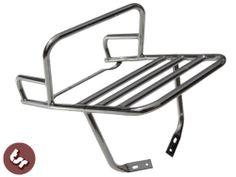 ★VESPA Stainless Rear Flat Rack/Beer Top Box Carrier/Grab Rail PX/LML | eBay | Price: £53.39