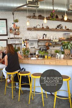 The Butcher's Daughter 19 Kenmare Street New York, NY 10012 tel: 212 219 3434 http://www.thebutchersdaughter.com