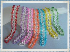 Ecuadoran Lace weave done with Czech glass seed beads