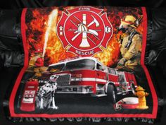 Firefighter Blankets Fleece   FireFighter Personalized Fleece Blanket 50x61 by StitchMeAName
