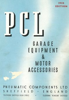 PCL - 1956 Product Catalogue