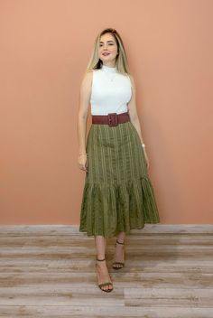 Cute Skirt Outfits, Basic Outfits, Modest Outfits, Classy Outfits, Casual Outfits, Petite Dresses Casual, Vintage Style Dresses, Modesty Fashion, Women's Fashion Dresses