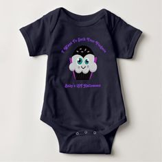 Count Cupcake Baby's 1st Halloween Baby Bodysuit