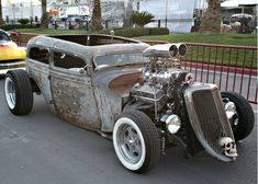 Visit StreetRodding.com today and View the Rat Rod Alley Become a Member Today