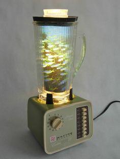 Vintage Blender Lamp