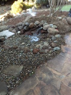 Pondless pond.  After
