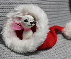 ChihuahuaChihuahua felted needle felted animal needle felt