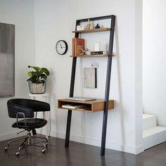 Buywest elm Ladder Shelf Storage Desk Online at johnlewis.com