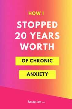 """If you're currently in a place where you're struggling with chronic anxiety and just feeling """"UGHHH!!"""" all the time, then this episode is for you my buttercup!  Click through to hear how I stopped 20 YEARS worth of chronic anxiety to become a much more calm, present and happy person, which of course, has POSITIVELY impacted my business!  #entrepreneurialmindset #mentalhealth #onlinebusiness #mentalhealthtips"""