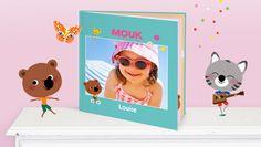 NOUVEAU : Le livre photo Mouk® ! Format Carré 18,5 x 18,5 cm, à partir de 20,95€ #enfant #albumphoto #albumphotoenfant #livrephotoenfant #albumenfant #mouk #albummouk