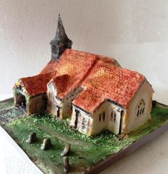 All Saints Church Cake by Fifi's Cakes