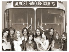 """""""We are not Groupies. Groupies sleep with rockstars because they want to be near someone famous. We are here because of the music, we inspire the music. We are Band Aids."""" ~Penny Lane, Almost Famous"""