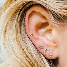 ariel gordon star earrings