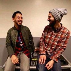 Mike Shinoda and Brad Delson - Linkin Park