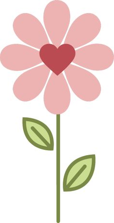 Applique Patterns, Flower Patterns, Flower Shape, Flower Art, Shapes For Kids, Scandinavian Folk Art, Flower Clipart, Arte Floral, Rock Crafts