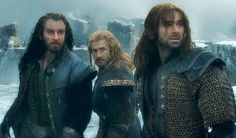 Thorin, Fili, and Kili