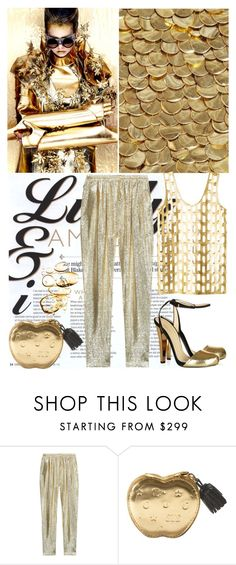 """Gold Digger"" by shaneeeee ❤ liked on Polyvore featuring moda, STELLA McCARTNEY, women's clothing, women, female, woman, misses y juniors"