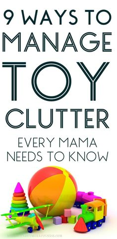 Need ideas for toy storage or tips for minimizing toys and keeping your kids happy at the same time? It's possible to retain your sanity and keep the toys under control. This is how I manage toy clutter with two boys and very limited space!