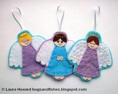 Aprenda a fazer anjinhos de feltro maravilhosos, de maneira super simples e rápida.