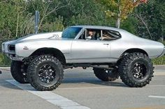 You don't see a lifted Judge everyday.