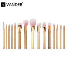 Vander Professional Rose Gold Makeup Brush Set (15Pcs) //Price: $29.95 & FREE Shipping //   #makeup