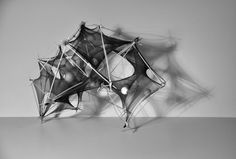 Tensile Membrane / Surface Exploration by Yoshinaga Hiroshi