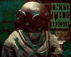 Into The Deep by Keith Tatum. Explored texture and depth with the found photograph. Added wood type and color. Mix Media, Mixed Media Art, Out Of My Mind, Crochet Designs, Types Of Wood, Photograph, Deep, Texture, Creative