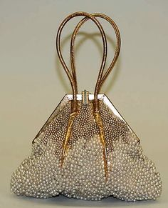 Evening bag - 1933 - by Marshall Field & Company (American, founded 1881) - Leather - The Metropolitan Museum of Art - my edit - @~ Mlle