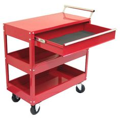 "Found it at Wayfair - 29"" Metal Tool Cart"