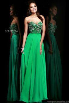 Sherri Hill Dress 8545 at Prom Dress Shop