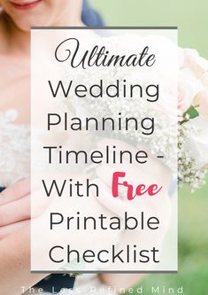 Ultimate wedding planning timeline checklist - with free printable PDF download! #weddingtips #weddingplanning #weddingadvice Wedding Costs, Wedding Advice, Budget Wedding, Wedding Blog, Lace Wedding, Wedding Dresses, Wedding Checklist Uk, Wedding Planning Timeline, Engraved Wedding Gifts