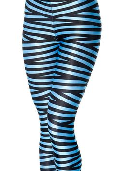 Tape Sky Blue Leggings - MUSEUM