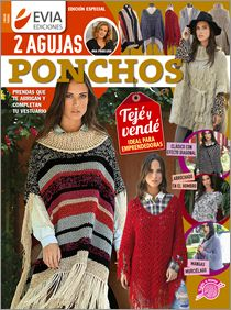 PONCHOS dos agujas - Edición especial 2016