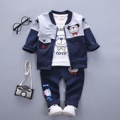 Mother & Kids Boys' Clothing Impartial Childrens Clothing Boy Denim Suit 2019 New Spring Korean Childrens Jacket Big Children Denim Jacket Jeans 2 Pcs Set Delicacies Loved By All