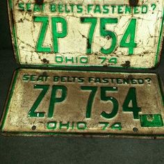 WOW we found one more License plate for your collection. Come bid at RFS13 eBay Auctions presented by Bobby and Janet