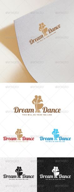 Logo of a Couple Dancing — Photoshop PSD #love #vector • Available here → https://graphicriver.net/item/logo-of-a-couple-dancing/6761478?ref=pxcr