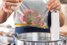 ChefSteps guide to sous vide steak.  Make a satisfying steak exactly the way you want it with this simple sous vide method—no special equipment required!